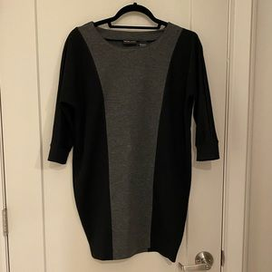 New York and Company Block Color Tunic Dress